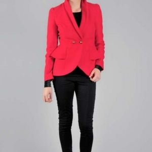 Jack Fall Collection Red peacoat Medium